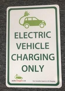EV Sign - Photo</span>