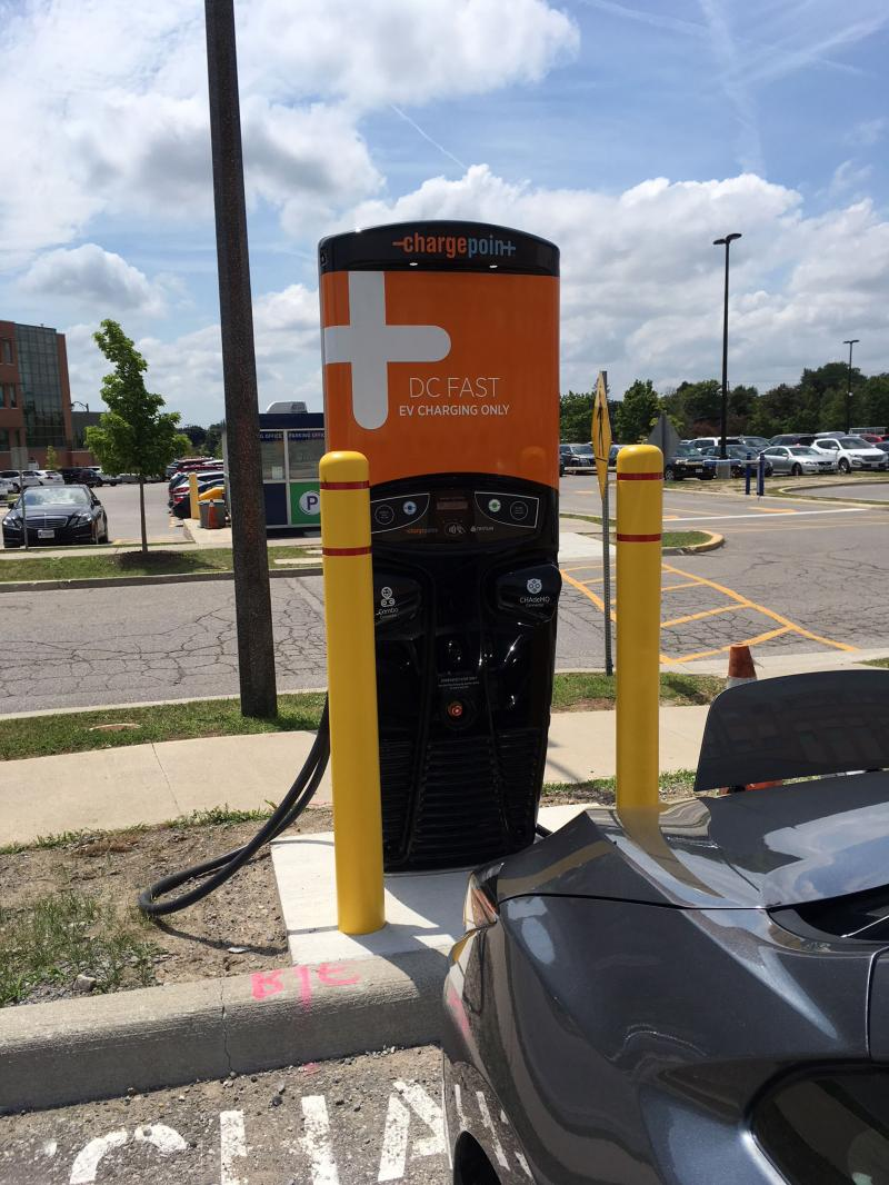 Markham Stouffville Hospital Charging Infrastructure Installed By Autochargers.ca - Photo