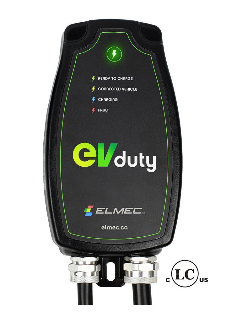 Borne de recharge EVduty 40 pour véhicule électrique (cablé) - Photo</span>