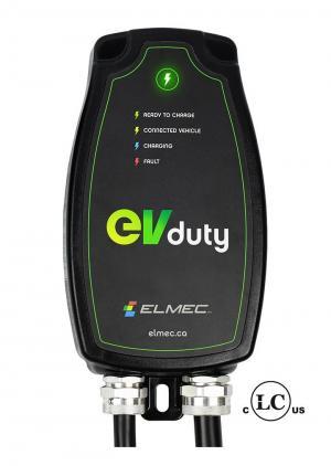 Borne de recharge EVduty 40 pour véhicule électrique (cablé)