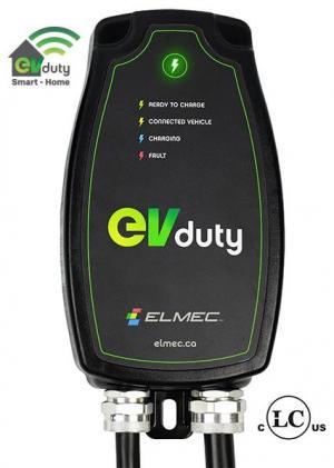 Borne de recharge EVduty-40 Smart-Home (prise NEMA 6-50P)