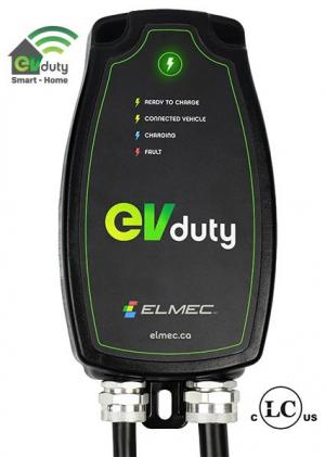 Borne de recharge EVduty-40 Smart-Home (cablé)