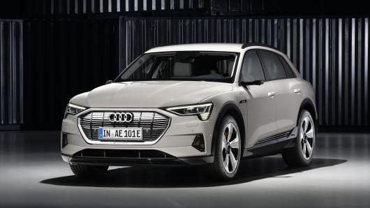 Audi unveils e-tron, the latest model to challenge Tesla's luxury EV dominance - Photo