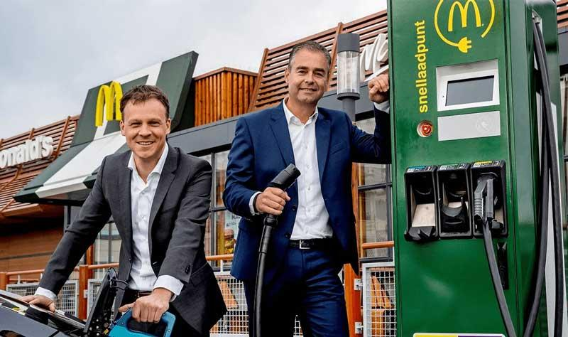 In Netherlands, every McDonalds Drive-In will have EV charging stations - Photo