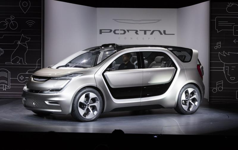 Chrysler Portal Electric Van Confirmed For Production - Photo