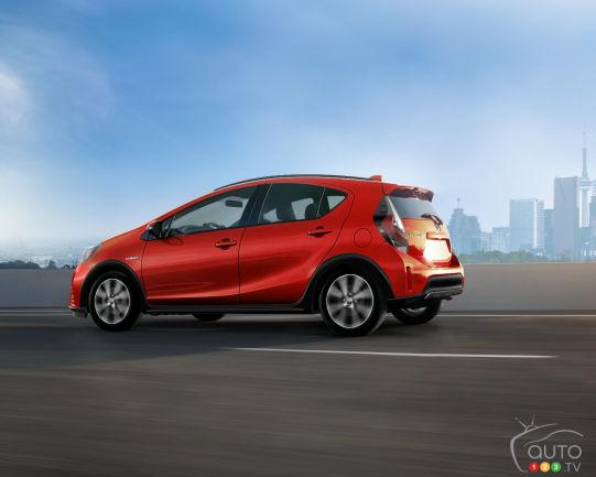 THE 2019 TOYOTA PRIUS C: DETAILS, PRICING FOR CANADA  - Photo