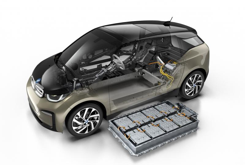 BMW Pumps up the Power with 129Ah Battery for the I3 - Photo