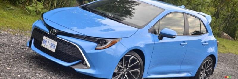 Toyota Corolla Hatchback : A high-performance hybrid version on the way? - Photo