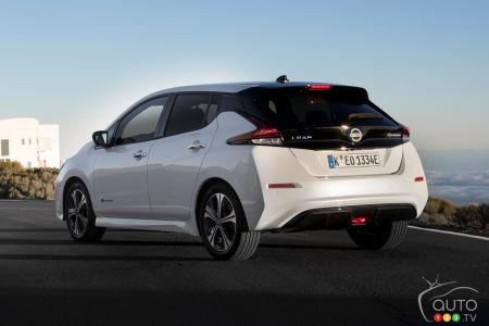 2019 Nissan LEAF Review - Photo