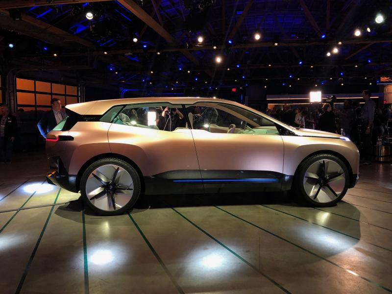 BMW Vision iNEXT Premieres at Automobility LA - Photo