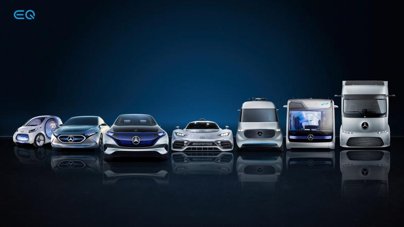 Daimler is buying over $20 billion in battery cells to support electric vehicle plans - Photo