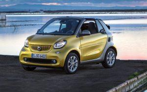 2018 Smart Fortwo Electric Drive Cabrio:  Perfect urban two seater! - Photo