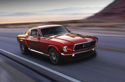 1967 Mustang meets Tesla: Aviar Motors all-electric muscle car - Photo