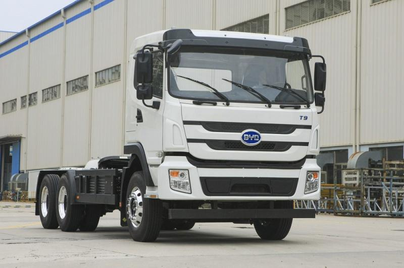 BYD Puts Canadian Electric Truck Plant On Hold - Photo