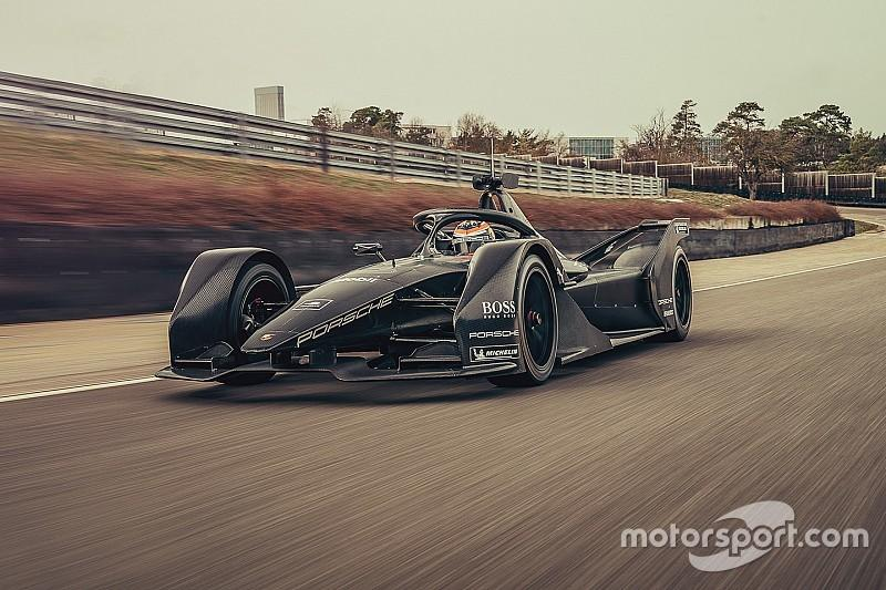 Porsche Conducts Shake Down Tests On Formula E Race Car - Photo