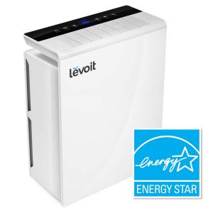 LEVOIT Air Purifier with True HEPA, Active Charcoal Filter, Cleaner for Large Room, Allergies, Pets,