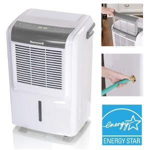 Honeywell 50 Pint Energy Star Dehumidifier DH50W, White/ Gray