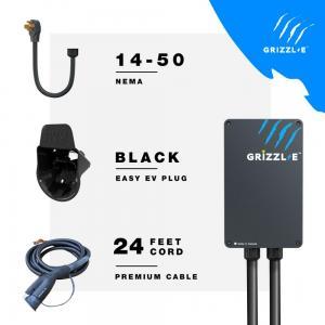 GRIZZL-E GR1-14-24-P-B CORDON NEMA 14-50 24 PIEDS AVEC CONNECTEUR EASYEVPLACK NOIR AVEC CABLE PREMIU - Photo #2