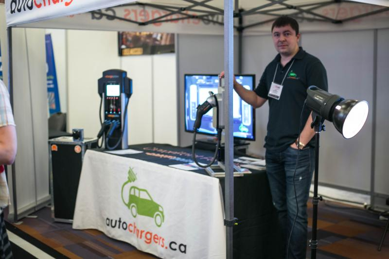 Autochargers.ca at the Vancouver International Auto Show. - Photo