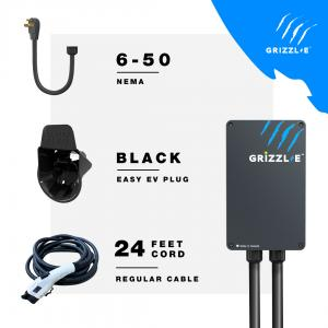 Grizzl-E Classic 40Amp Level 2 EV Charger – NEMA 6-50, 24ft Premium Cable - Photo #2