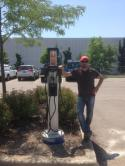 Installation de 2 CT4000 Stations a Fengate Capital Management a Oakville, Ontario. - Photo #2