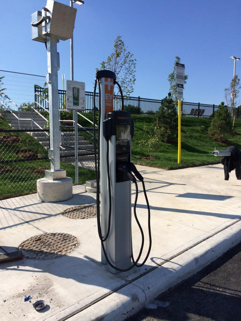 CT4000 Is Installed at Newly Constructed Gormley GO Station in Stouffville, ON. - Photo