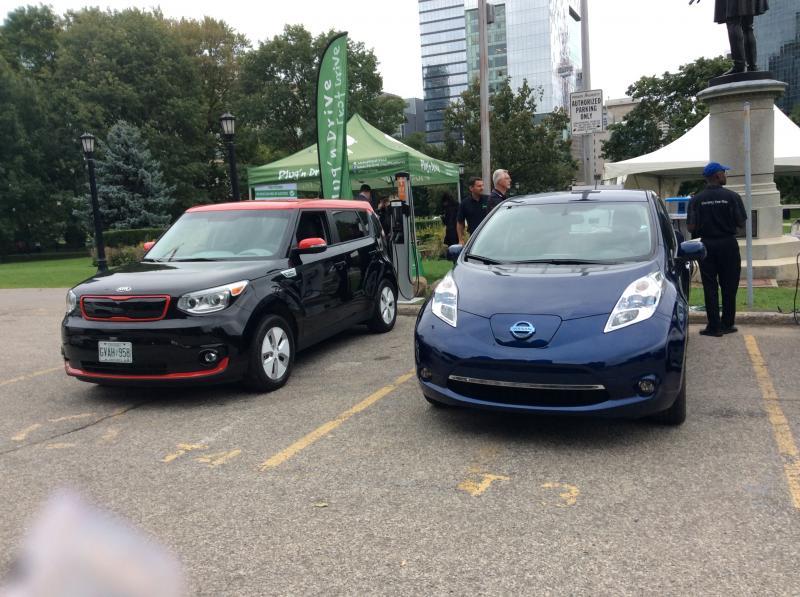 Autochargers.ca à Queen's Park EV Day 2016. - Photo