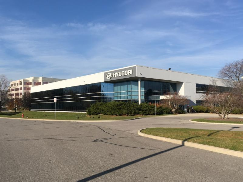 "CPE100 DC ""Quick"" and CT4000 Stations are Installed at Hyundai Canada Headquarters in Markham, Ontario. - Photo"