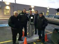 Autochargers.ca installed Dual Port CT4021 station in Brampton - Photo #2