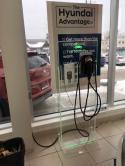 Une station CPF25 et une station CT4025 ChargePoint sont installées à Collingwood Hyundai. Le programme ChargePoint Home Display par Autochargers.ca est mis en effet au concessionnaire aussi. - Photo #2