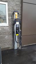 One AeroVironment RS-25 and One CT4000 ChargePoint Stations are Installed at Burlington Hyundai Dealership. - Photo #2