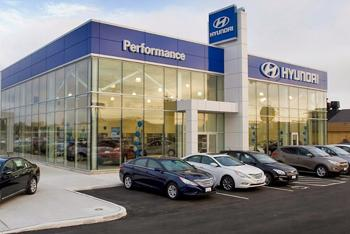 La station CT4000 est installée à Performance Hyundai à St. Catharines, Ontario. - Photo