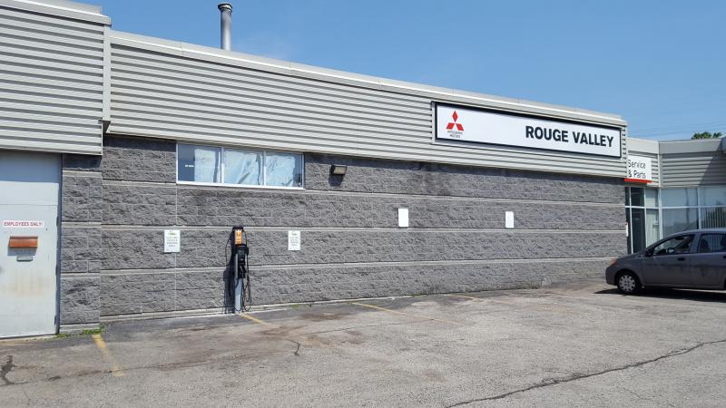 CT4000 Station is Installed at Rouge Valley Mitsubishi in Scarborough, ON. - Photo