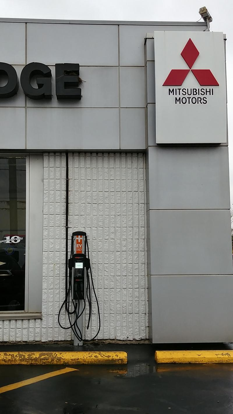 CT4000 Station is Installed at Cambridge Mitsubishi in Cambridge, ON - Photo
