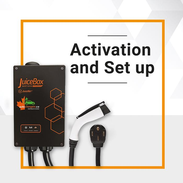 JuiceBox Pro 40 Commercial Charger Activation and Initial Set up - Photo